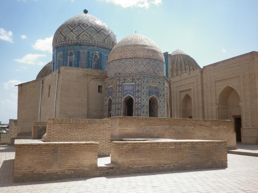 Tombs in Samarkand