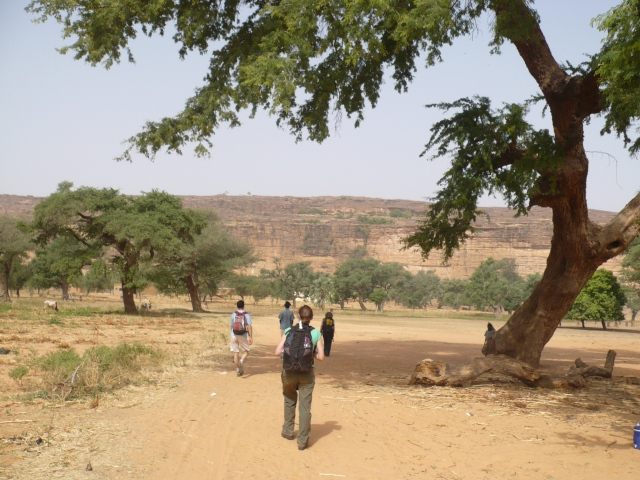 The Dogon Country. Hot and wild