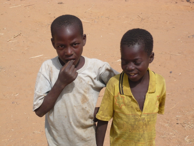 A couple of likely lads from a Dogon village!