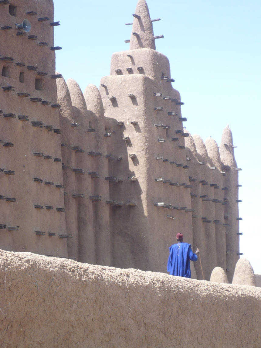 The mosque at Djenne