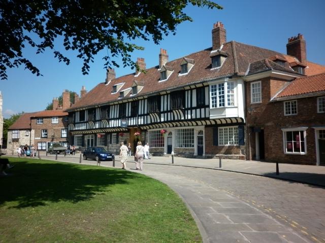 Beautiful Tudor house in York