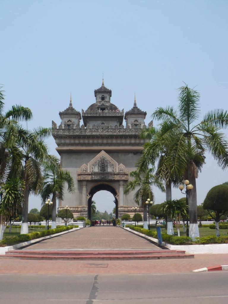 Arch in Vientiane