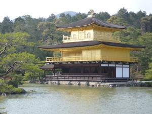 The Golden temple, Kinkankuji