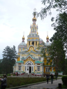 Cathedral in Panfilov Park, Almaty