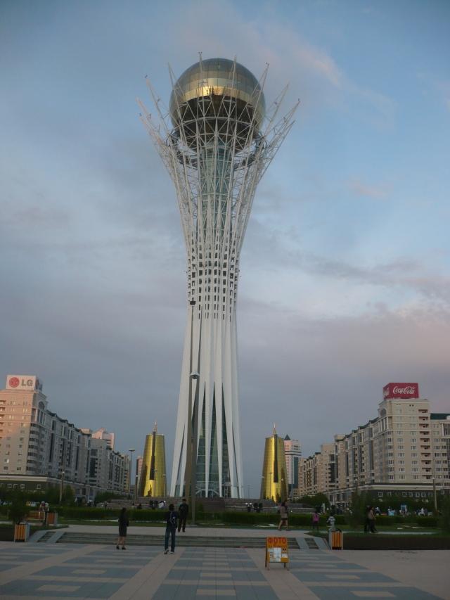 Byoterek, Astana