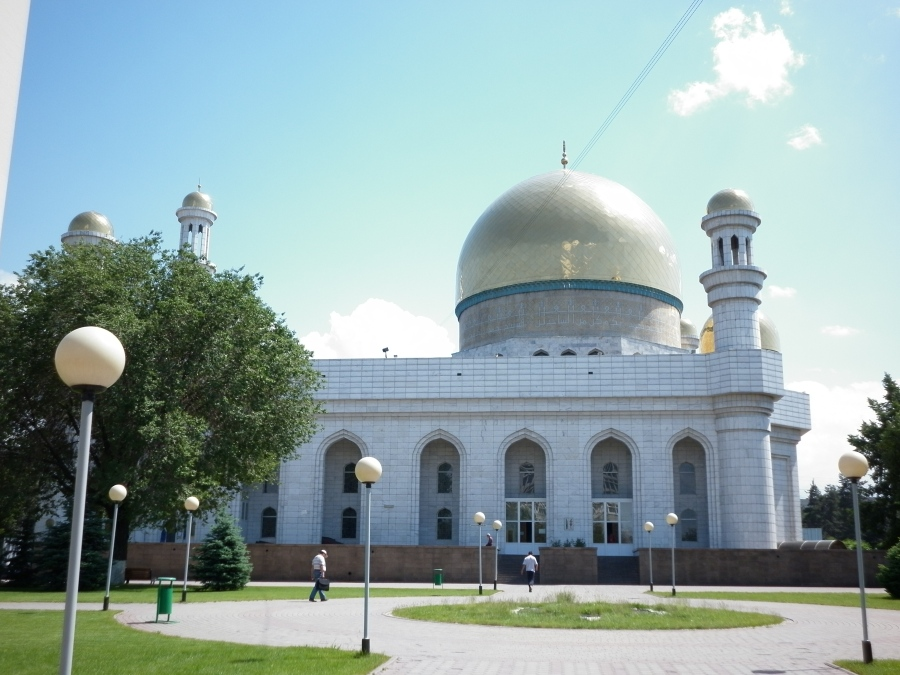 Central Mosque, Almaty