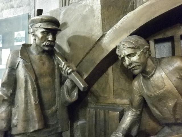 Soviet memorials in the Kyrgyzstan National Museum, Bishkek