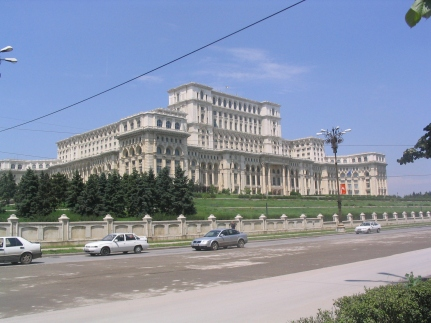 Palace of the People, Bucharest.