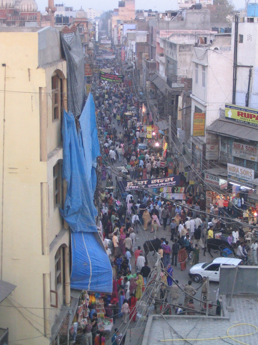 Paraganj - backpacking district, Delhi