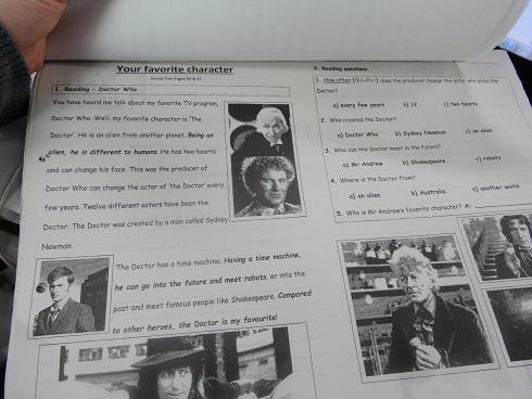 my final worksheet for school