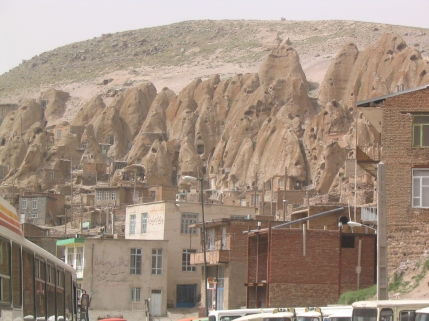 Houses in volcanic rock, Kandovan