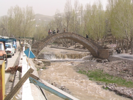 bridge in Tabriz
