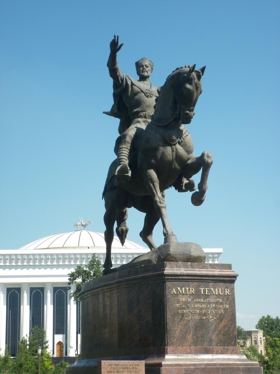 Timur on horseback