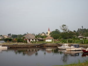 Marina area, Kribi