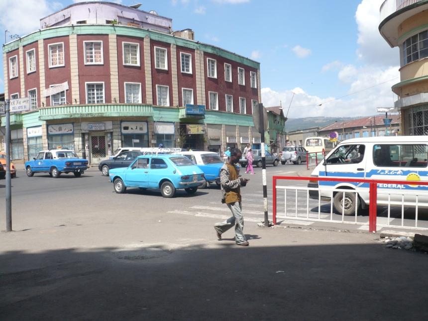 Bustling Addis