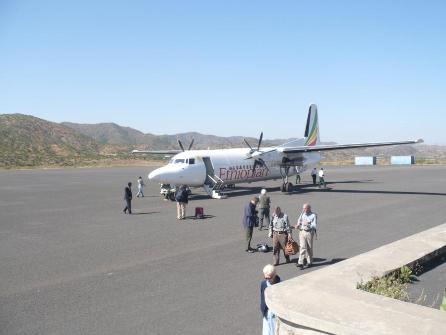 Arriving at Lalibela