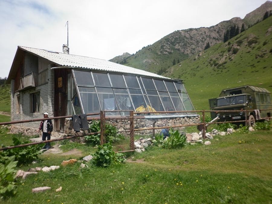 Altyn Arashan, a highlight of Kyrgyzstan.