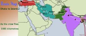 route through Asia copy