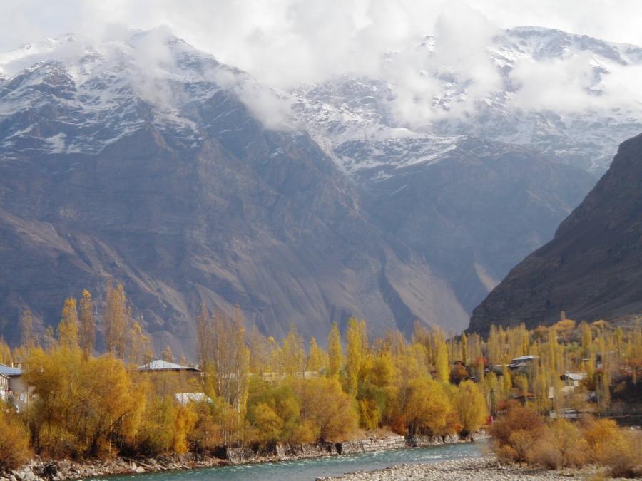 The Pamirs in Tajikistan