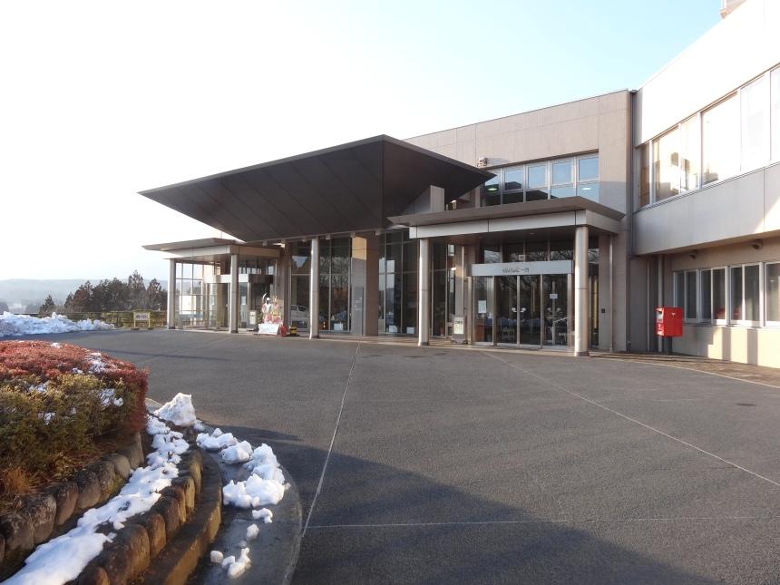 The front facade