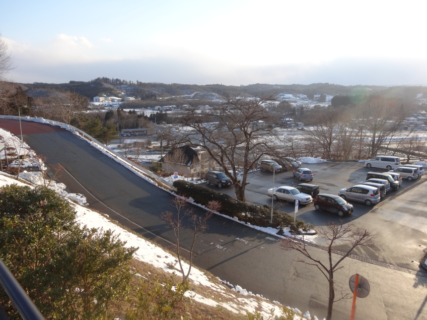 View from the onsen