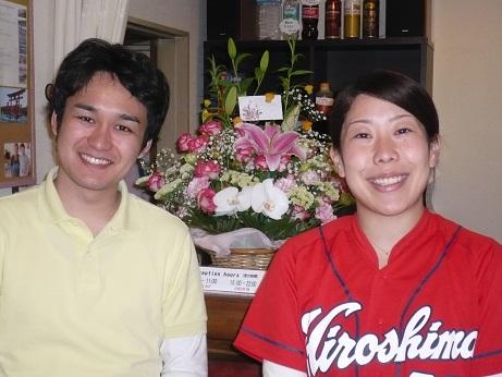 Friendly staff at Hana Hostel