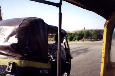 Rickshaws - always associated with India.