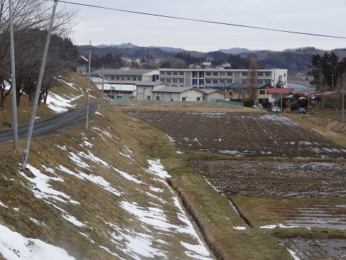 My school from afar in Japan