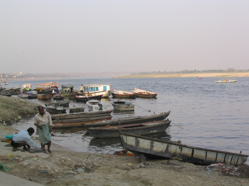 Banks of the Ganges, Varanasi