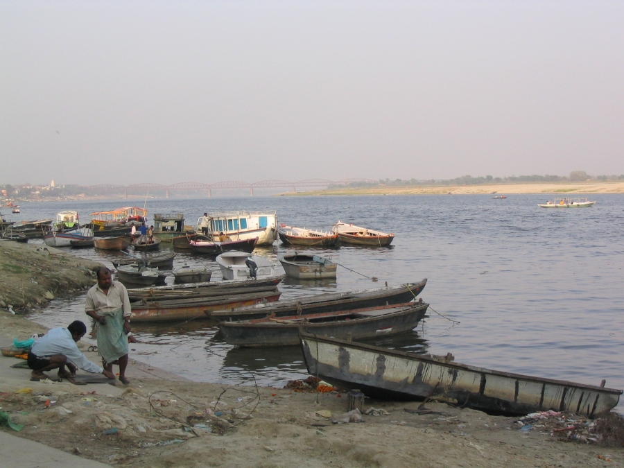 Banks of the Ganges, Varanasi