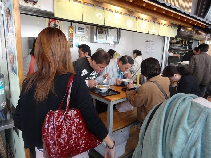 People love Ramen in Japan.