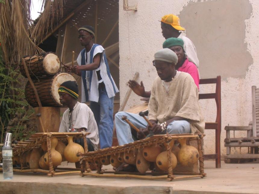 Drumming in Banfora