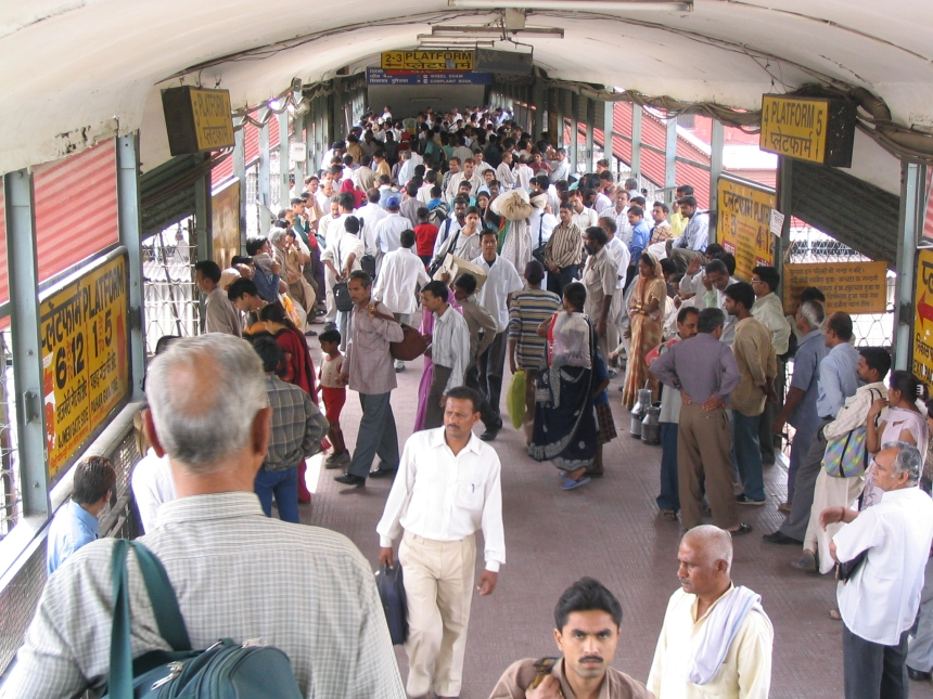 New Delhi Station.