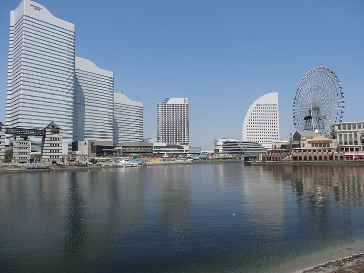 The Minato Mirai area is actually really beautiful - a highlight of Yokohama