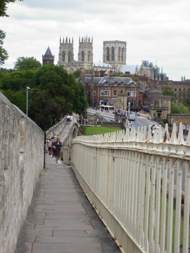 great views from the city walls