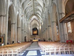 Inside the Minster