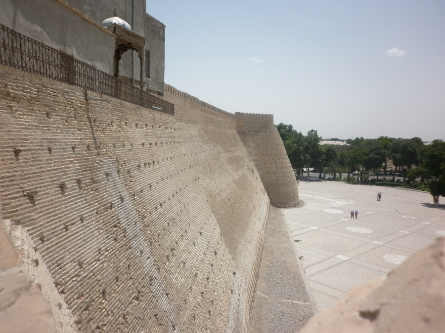 The walls of 'The Ark'