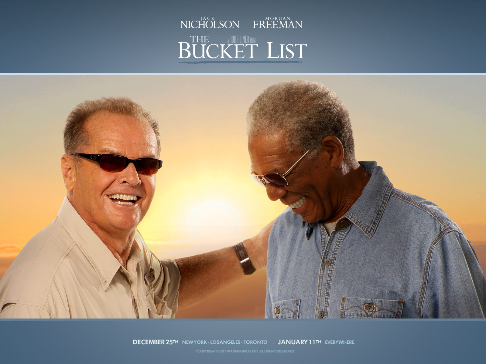 the bucket list plot
