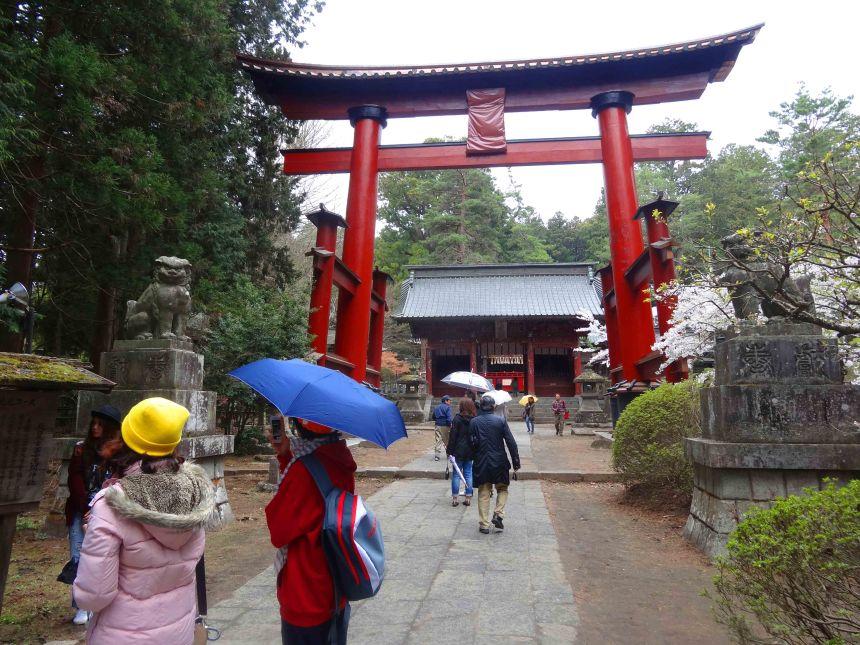 Tori leading to the Shengen Shrine