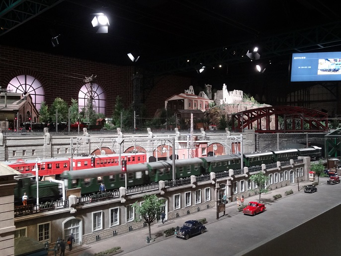 One of the most amazing model train displays I've seen