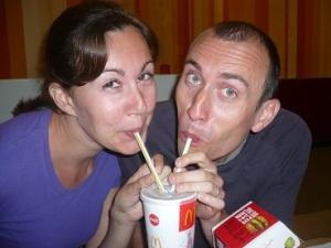 Steve and Elke!