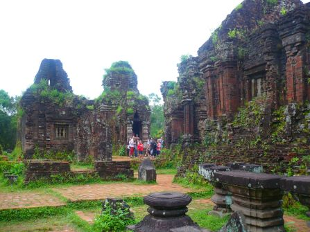 Ruins of My Son near Hoi An.