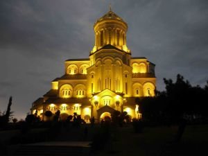 The Holy Trinity Cathedral.