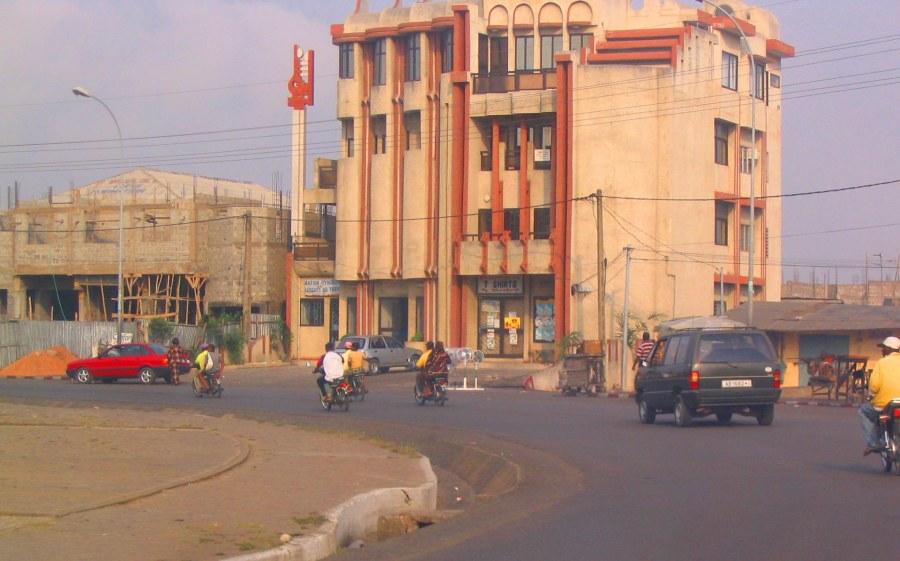 Street of Cotonou