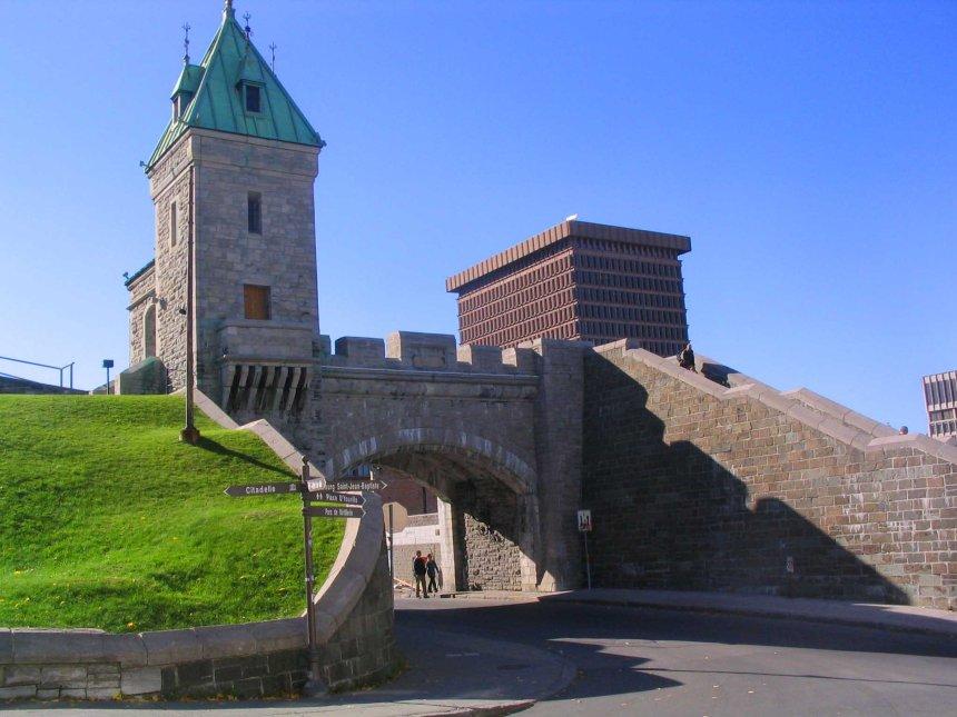 A grand entrance.