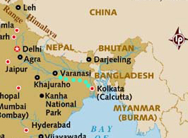 Map thanks to Lonely Planet
