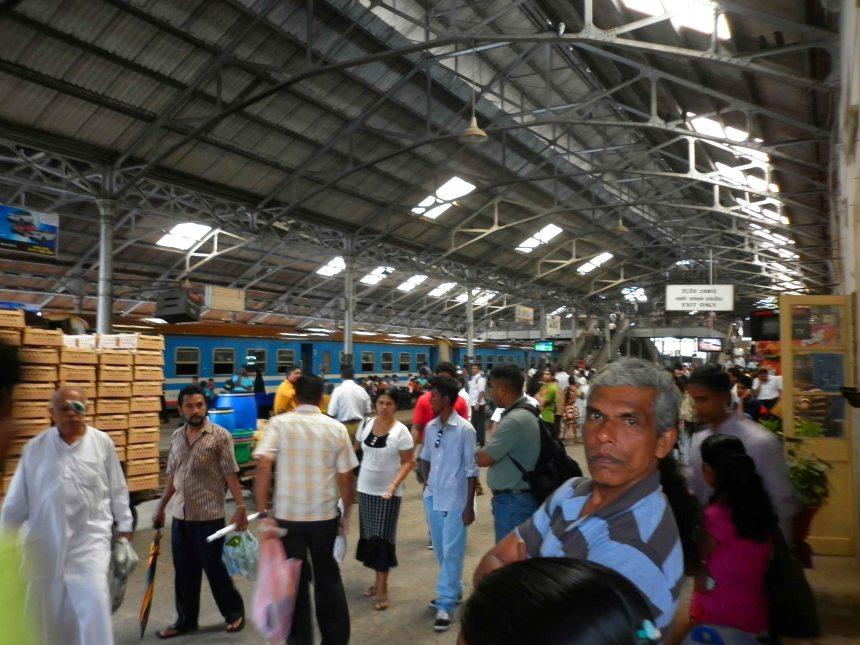 Colombo Train Station