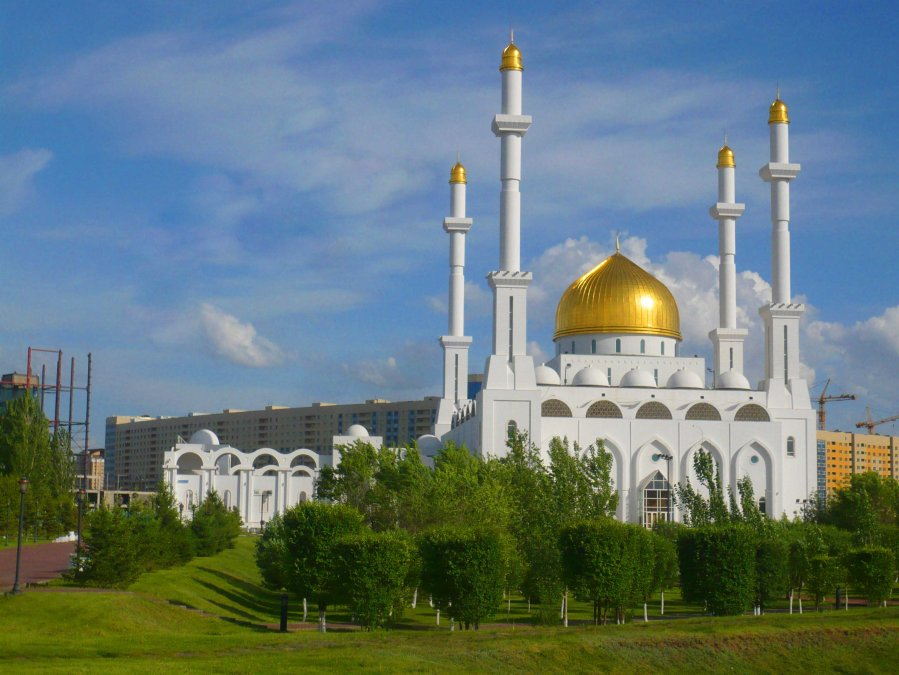 The mosque in Astana
