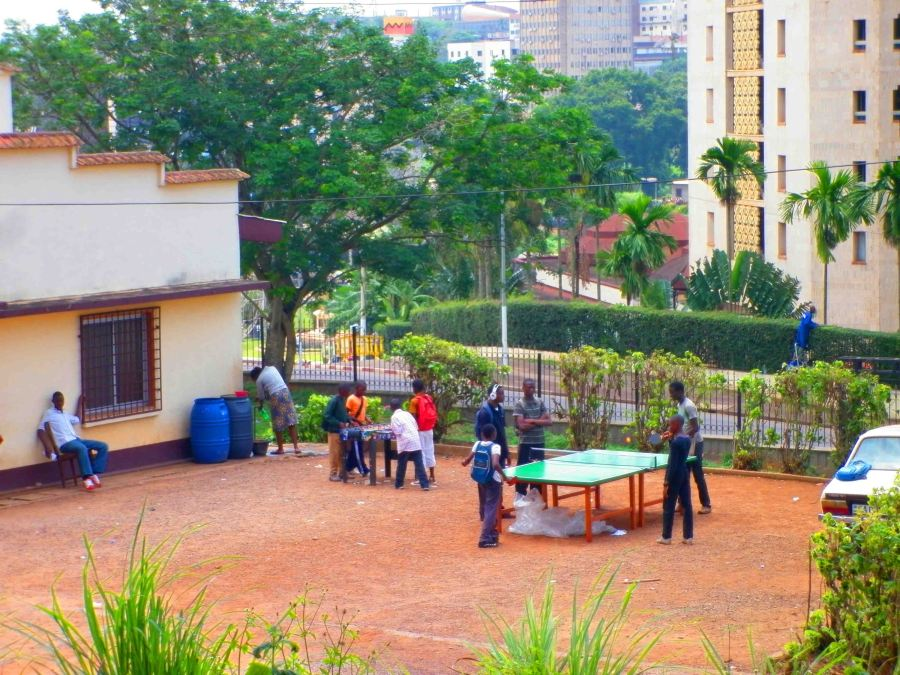 Table tennis the rage in Yaounde