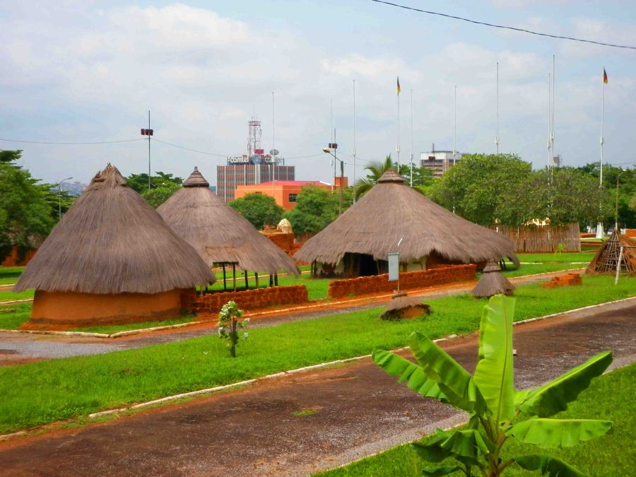 Open-air museum in Yaounde